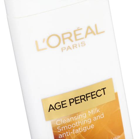 L Oreal Cleansing Milk l oreal age cleansing milk chemist direct