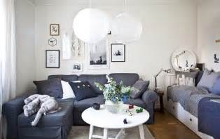 Small Living Room Ideas Ikea living room that is also a bedroom