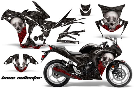 Knalpot Racing Honda New Cbr 250 Rr Spark Titan High Peforma honda cbr 250r 10 13 graphics bone collector