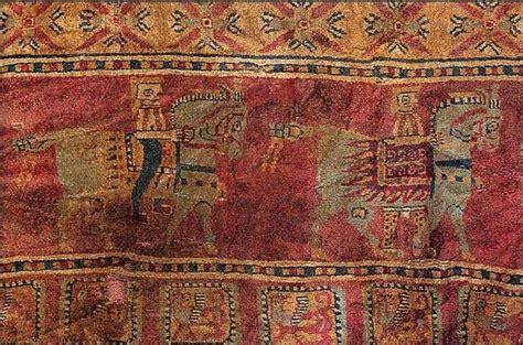 pazyryk rug detail of pazyryk carpet