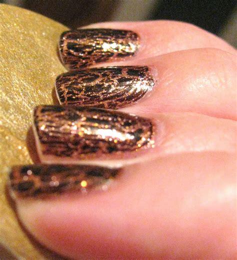 Zoya In Motion Black ipolished faux leopard