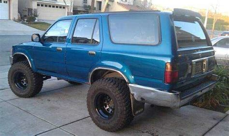 Lifted 93 Toyota Toyota 4runner Lift With Pictures Mitula Cars