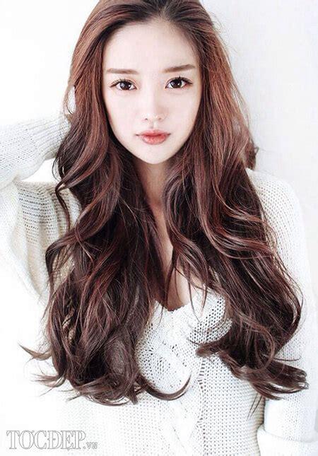 korean hairstyle for round face female 2016 top 50 kiểu t 243 c d 224 i uốn đẹp nhất cho nữ năm 2017