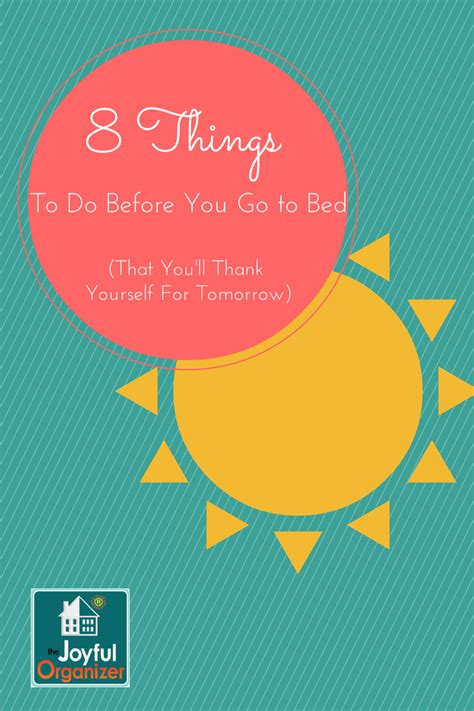 things to do before bed 8 things to do before bed that you ll thank yourself for