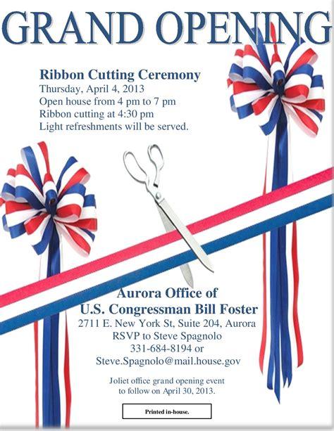 Invitation Letter With Ribbon Ribbon Cutting Ceremony Invitation Invitations Ideas