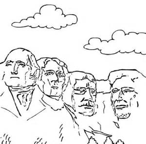 united states coloring pages national monuments sketch template