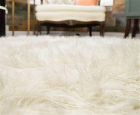 diy flokati rug a faux fur rug you can make yourself wise diy wise diy