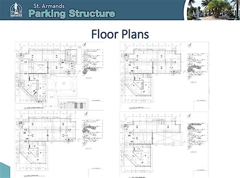 parking garage floor plan city commission approves zoning waivers for st armands parking garage and gets update on design