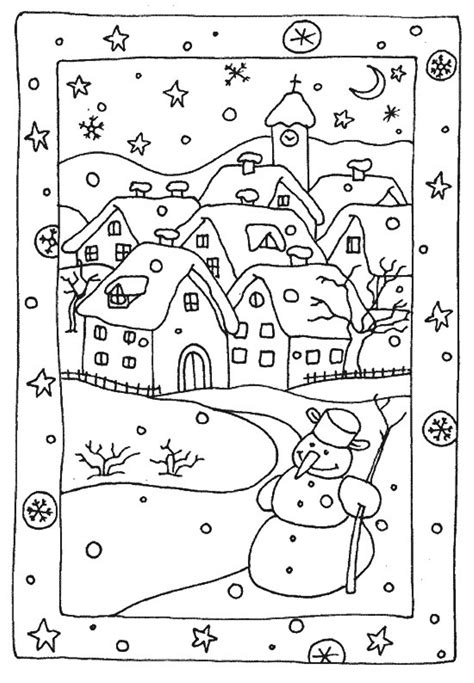 17 Best Images About Winter - coloring pages free winter coloring pages free