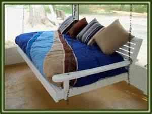 outdoor swinging bed plans for wooden porch furniture online woodworking plans
