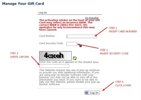 My Gift Card Site Register - my gift card site register infocard co