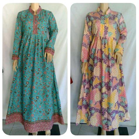 Gamis Batik 100 gambar gamis batik dengan jual busana muslim gamis