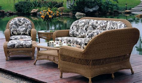 patio renaissance rivierra wicker outdoor sofa furniture