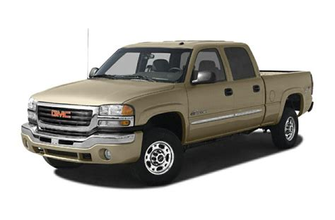 2006 gmc 2500hd specs 2006 gmc 2500hd specs safety rating mpg carsdirect