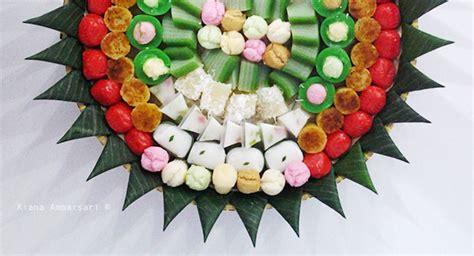 colors  jajanan pasar indonesian traditional snacks