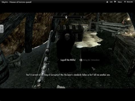 The House Of Horrors Skyrim by Skyrim And Morality The House Of Horrors