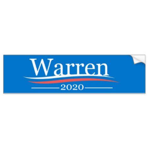 Warren For President Sticker