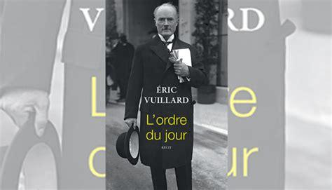 libro lordre du jour un 97 201 ric vuillard gana el premio goncourt el imparcial