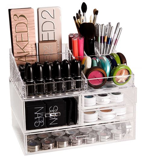Makeup Organizer Shelf by 13 Cool Diy Makeup Organizers Makeup Tutorials