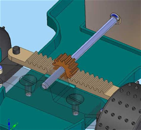 Rack And Pinion Exles by Solid Edge 3d Cad Software Solid Edge Version 19