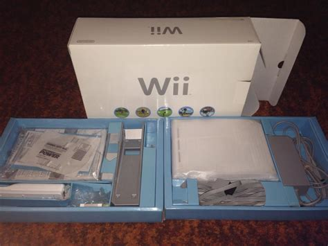wii original console complete nintendo wii console with original packaging
