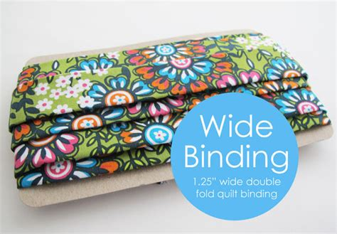 items similar to wide quilt binding 4 yards fold 1