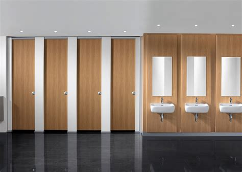 Cubicle Bathroom by Commercial Toilet Cubicles Bushboard Washrooms