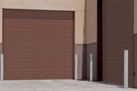 wind load garage doors thermacore wind load door 515