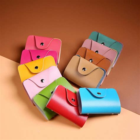 Best Gift Cards For Guys - best gift hcandice new men women leather credit card holder case card holder wallet