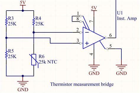 ntc thermistor exle ntc thermistor bridge principles of engineering refilament medium