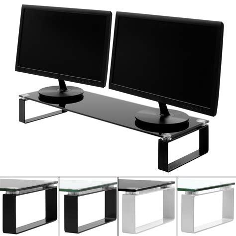 Shelf Computer by Large Monitor Screen Riser Shelf Computer Imac
