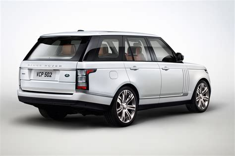 range rover autobiography 2014 land rover range rover autobiography black rear three