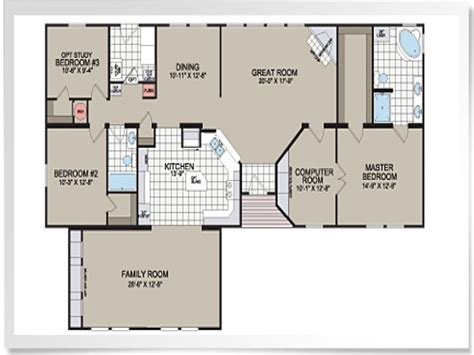 manufactured home floorplans modular homes floor plans and prices modular home floor