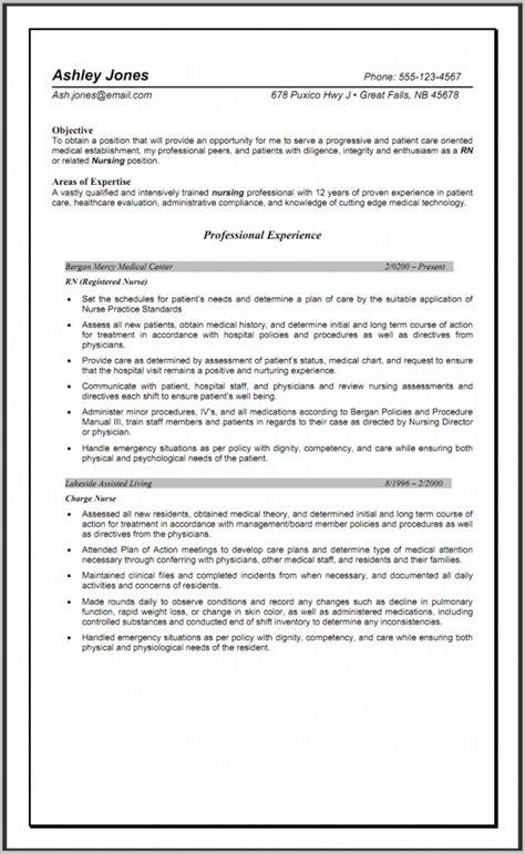 Lpn Resume Nursing Home by Sle Lpn Resume Nursing Home Resume Resume Exles