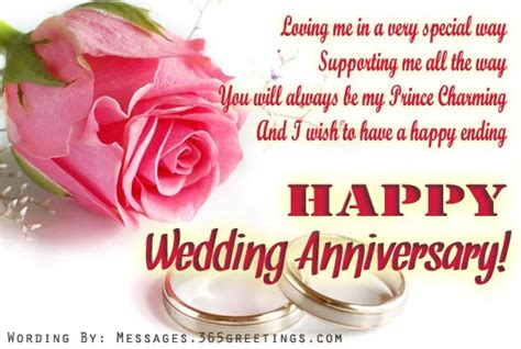 Wedding Anniversary Wishes Husband To by Anniversary Wishes For Husband 365greetings