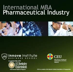 Mba Pharmaceutical by Fundaci 243 N Ceu El Nuevo International Mba Industria