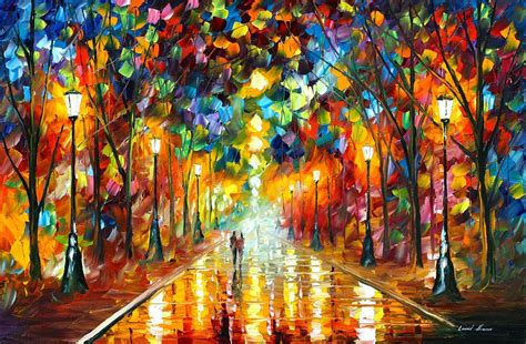 farewell to anger painting by leonid afremov