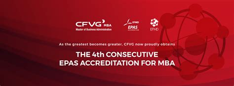St Mba Accreditation by Official Announcement Of Cfvg Mba S 4th Epas Accreditation