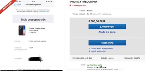 ebay iphone x el iphone x se vende en ebay por 3000 euros 191 estamos locos