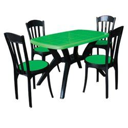 Plastic Dining Table And Chairs Price Plastic Dining Table With Chair Luxury Chairs Table Exporter From Kolkata