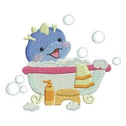 Dinoplatz Bath Time For Dino bath time dinosaur embroidery designs machine embroidery