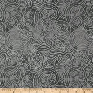 Gray Quilting Fabric by Essential Dotty Waves 108 Quot Wide Quilt Back Gray Discount