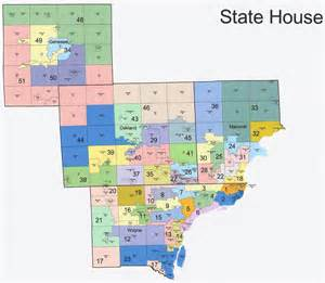 state house district map the western right michigan redistricting alternative