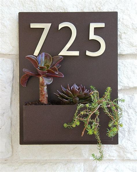 Address Wall Plaques Free Shipping - 169 best house numbers images on house numbers