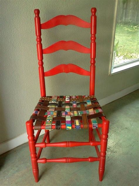 heeere s quot earl quot upcycled recycled ladder back chair