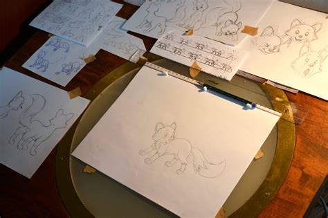 Animation Table by Animation Table By Lisicat On Deviantart