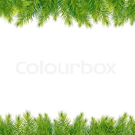 Safari Style Home Decor christmas tree borders stock photo colourbox