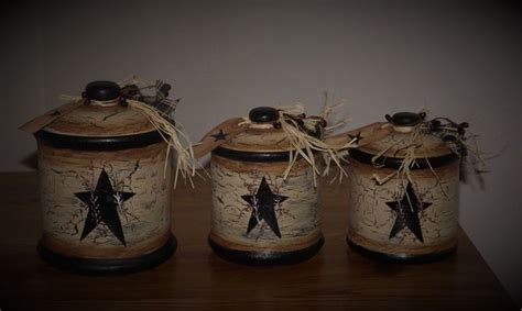 primitive kitchen canisters 17 best images about primitive canister sets on