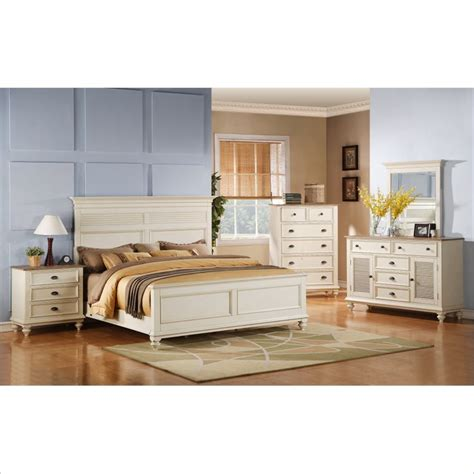 Riverside Bedroom Sets by Riverside Coventry Bedroom Set In Dover White