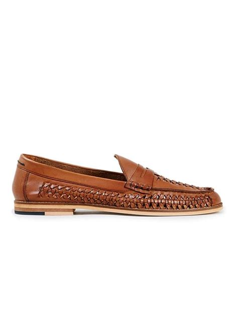 mens woven leather loafers marne leather woven loafers s casual shoes